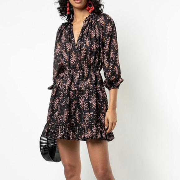 Brienne Dress - jet color - size 10, NEW WITH TAGS NWT